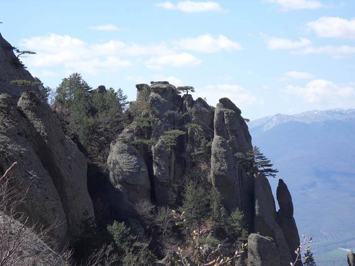 Долина Привидений. Гора Демерджи.